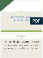 Visual Basic 6.0 - Do While Loop