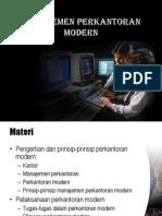 12-Manajemen Perkantoran Modern