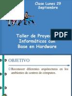 I.3) Taller de Proyectos Informáticos con Base en Hardware. Otros componentes de los Sistemas de Computos II.pptx
