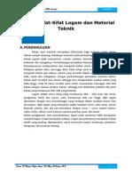 Tugas Kelompok Ilmu Bahan - Bab Sifat Sifat Logam Dan Material Teknik