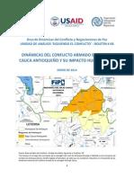 Dinamicas conflicto armado bajo cauca FIP USAID.pdf