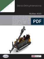 Dando Drilling Indonesia Multitec 4000