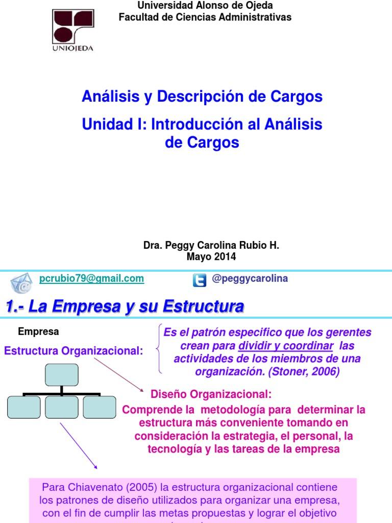 Analisis Y Descripcion Unidad I Ppt