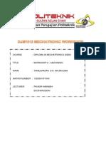 DJM1012 Mechatronic Workshop Practice-Machining Report.docx