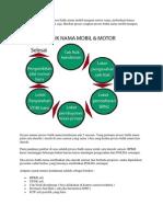 Secara Umum Prosedur Proses Balik Nama Mobil Maupun Motor Sama