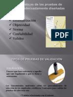 Características de las pruebas de selección adecuadamente diseñadas.pptx