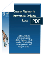 1. Coronary Physiology