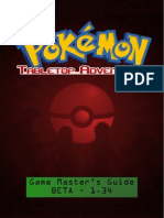 Pokemon Tabletop Adventures GM Guide