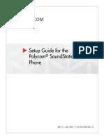 SoundStation IP 7000 Setup Guide