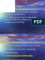 OBJECTIVE OF LABOUR LAWS