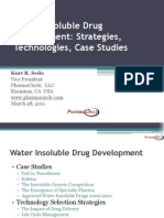 Water Insoluble Strategies