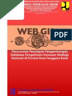 Midterm Report Penyusunan Penyiapan Pengembangan Database Pengelolaan Kawasan Strategis Nasional di Provinsi Nusa Tenggara Barat