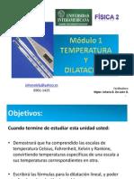 Modulo 1 Temperatura y Dilatación