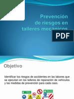 Prevenciónde riesgos en el trabajo taller automotriz.pptx