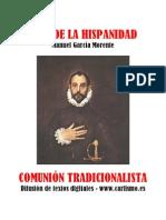 Manuel Garcia Morente Idea de La Hispanidad
