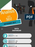 Analisis Displin Sdj Sept 2014