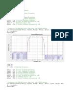 Matlab Filter Analysis