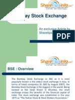 Bombay Stock Exchange - ShareTipsInfo report on BSE