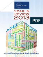 ADBI Year in Review 2013