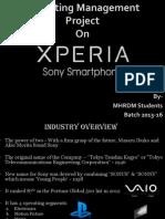 Marketing Management-Sony Xperia