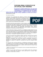 BASES DA DISCIPLINA PARA O EXERCÍCIO DE UM MEDIUNATO EFICAZ, SEM TRAUMAS.doc