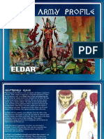 Eldar Army Profile