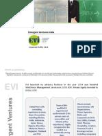 Emergent Ventures Corporate Profile