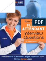 How to Answer Flight Attendant Interview Questions (How to Become a Flight Attendant)