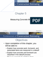 Measuring Concrete Works