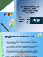 English Yr 4 Kssr
