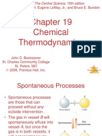 CH 19-Chemical Thermodynamics