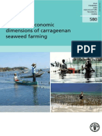 Social and Economic Dimension of Carrageenan Seaweed Farming