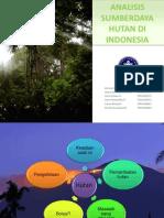 Analisis Sumberdaya Hutan Untuk Di Print