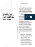 Roelstraete - What is not Contemporay Art.pdf
