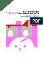 Informativa Nidi Trasferimenti Voucher a.e. 20142015