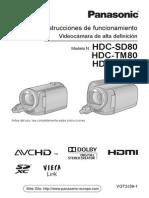 Panasonic HDC HS80.pdf