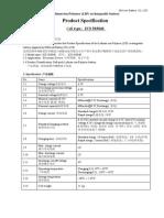 Li-ion Bateria Epsc Datasheet