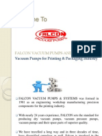 Falcon Vacuum Pumps and Systems - About Us