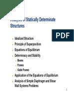Determinate Structures(1)
