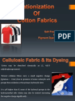 Cationization OF Cotton Fabrics--------Salt Free Dyeing & Pigment Dyeing by exhaust.