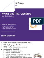 copy of PFRS Updates 2013 PandA (Rodel Marqueses)