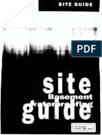Basement Waterproofing Site Guide