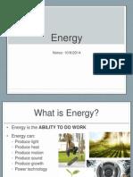energy intro notes