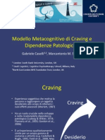 SITCC2014 - Caselli - Modello Metacognitivo Di Craving