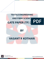 Tf Textile Gate 2011 Question Paper
