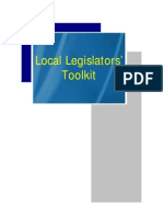 Local Legislators Toolkit (LGSP)