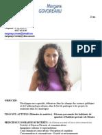 CV français