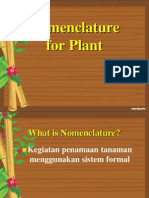 Kel 2 Plant Nomenclature