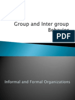 Group and Inter Group Behavior