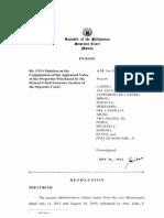 SC DEC. COA APP VALUE on SC PROP; 11-7-10.pdf